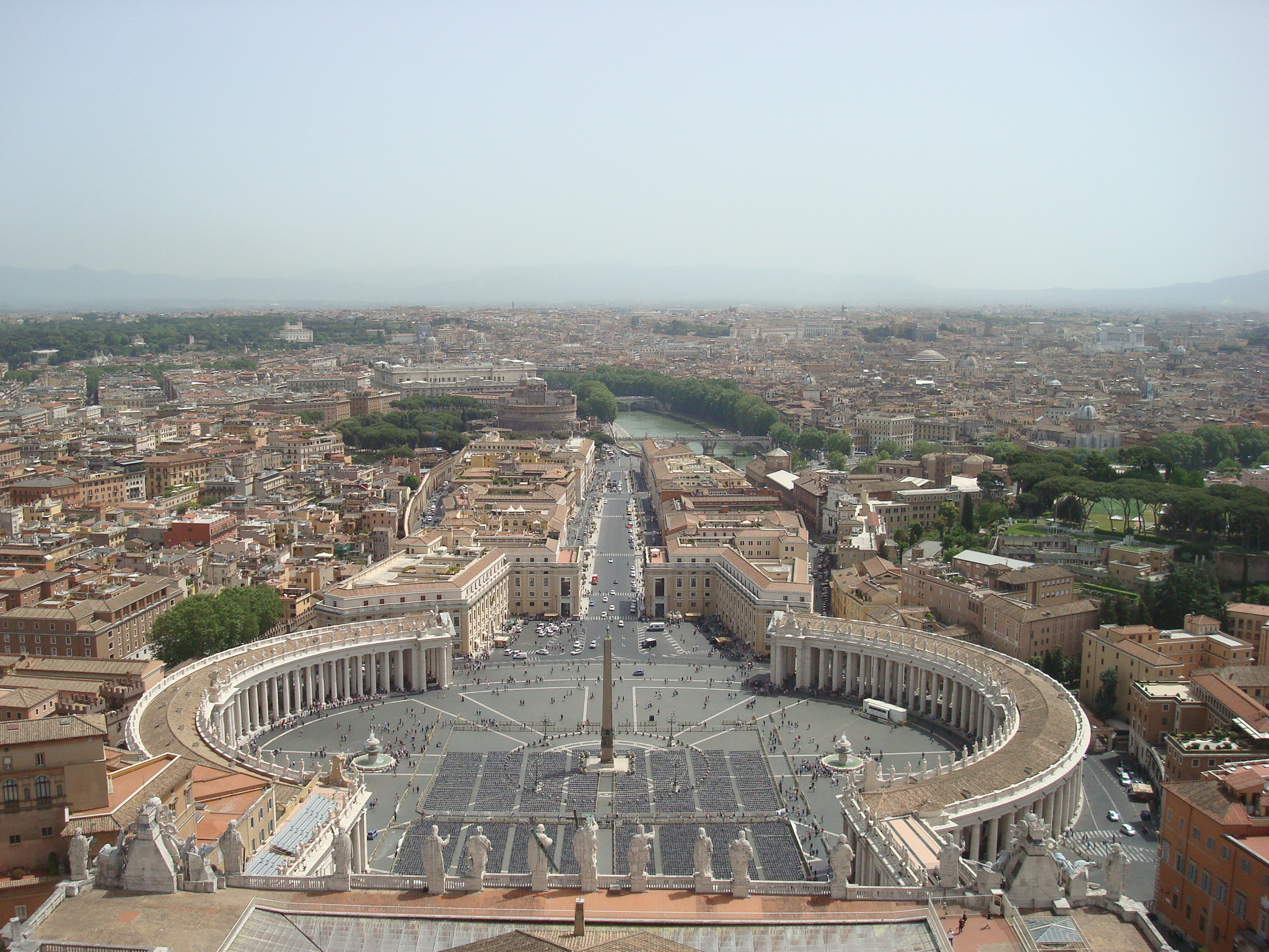 view of st peters square or san pietra square