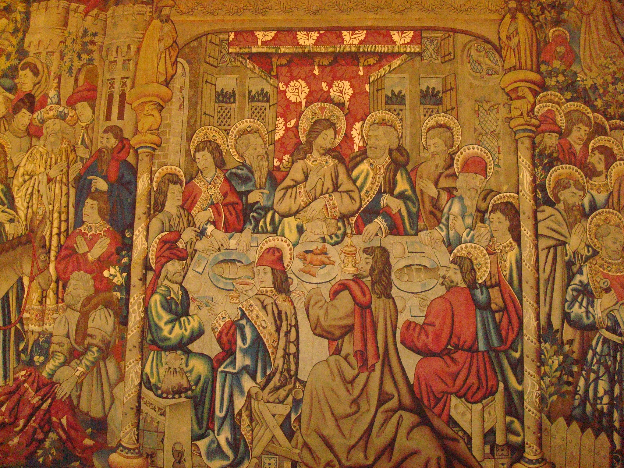 last supper tapestry vatican museum