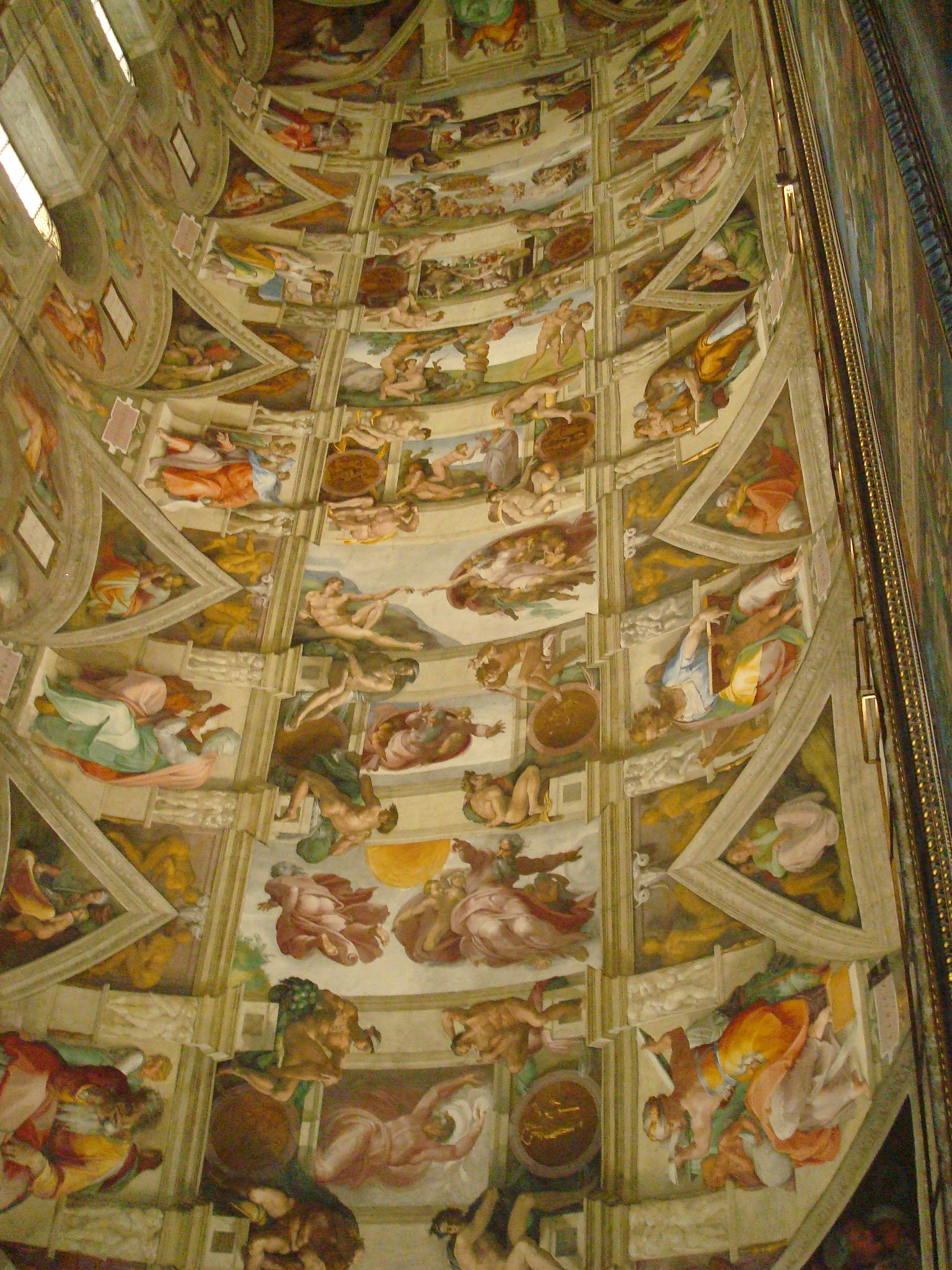 Sistine Chapel by Michaelangelo