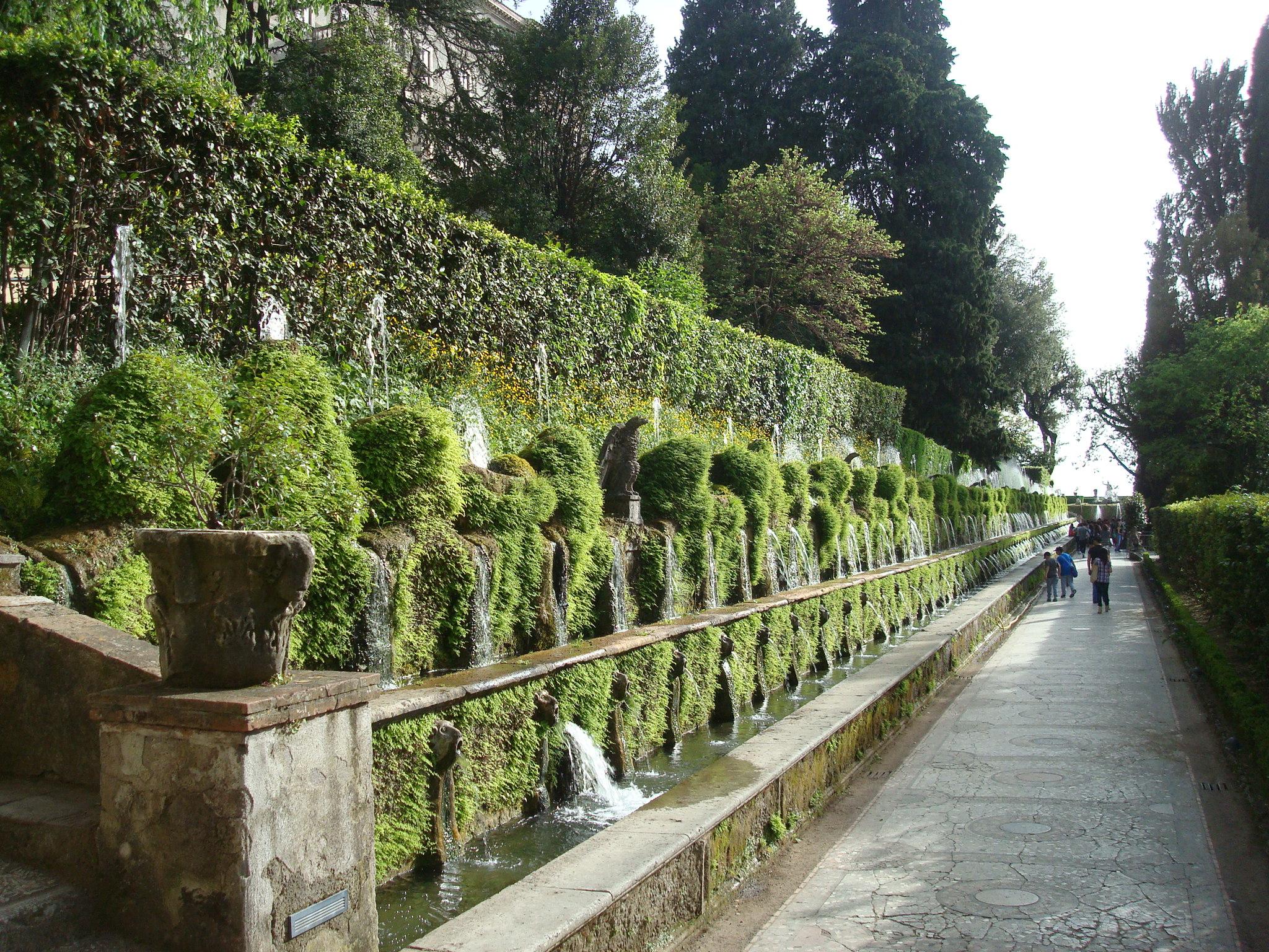 Villa D'Este entry