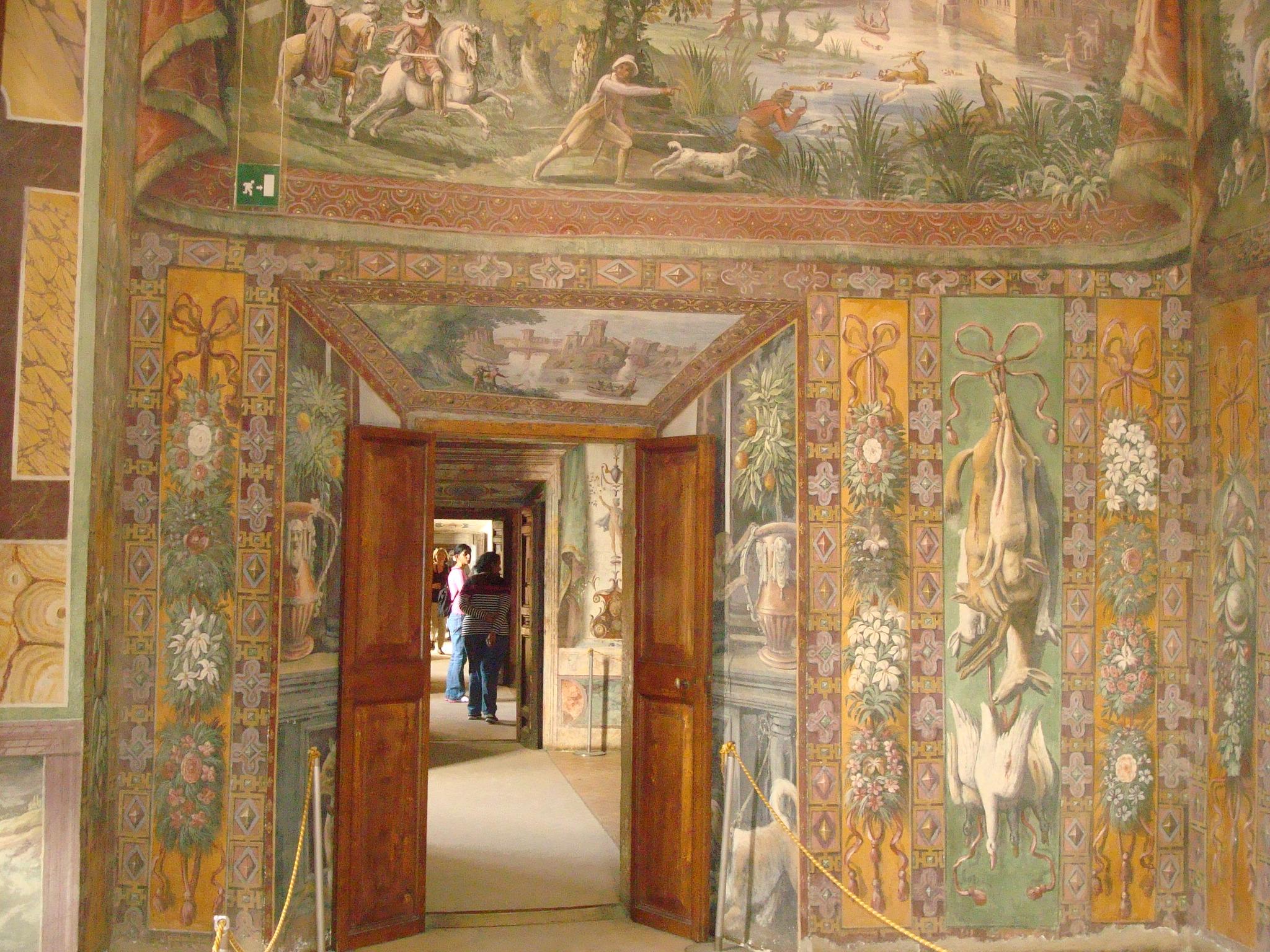 Villa D'Este mural