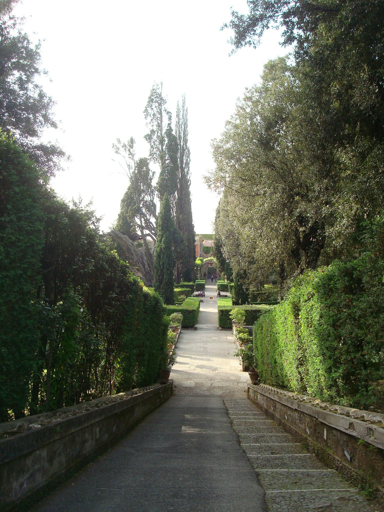 Villa D'Este slope