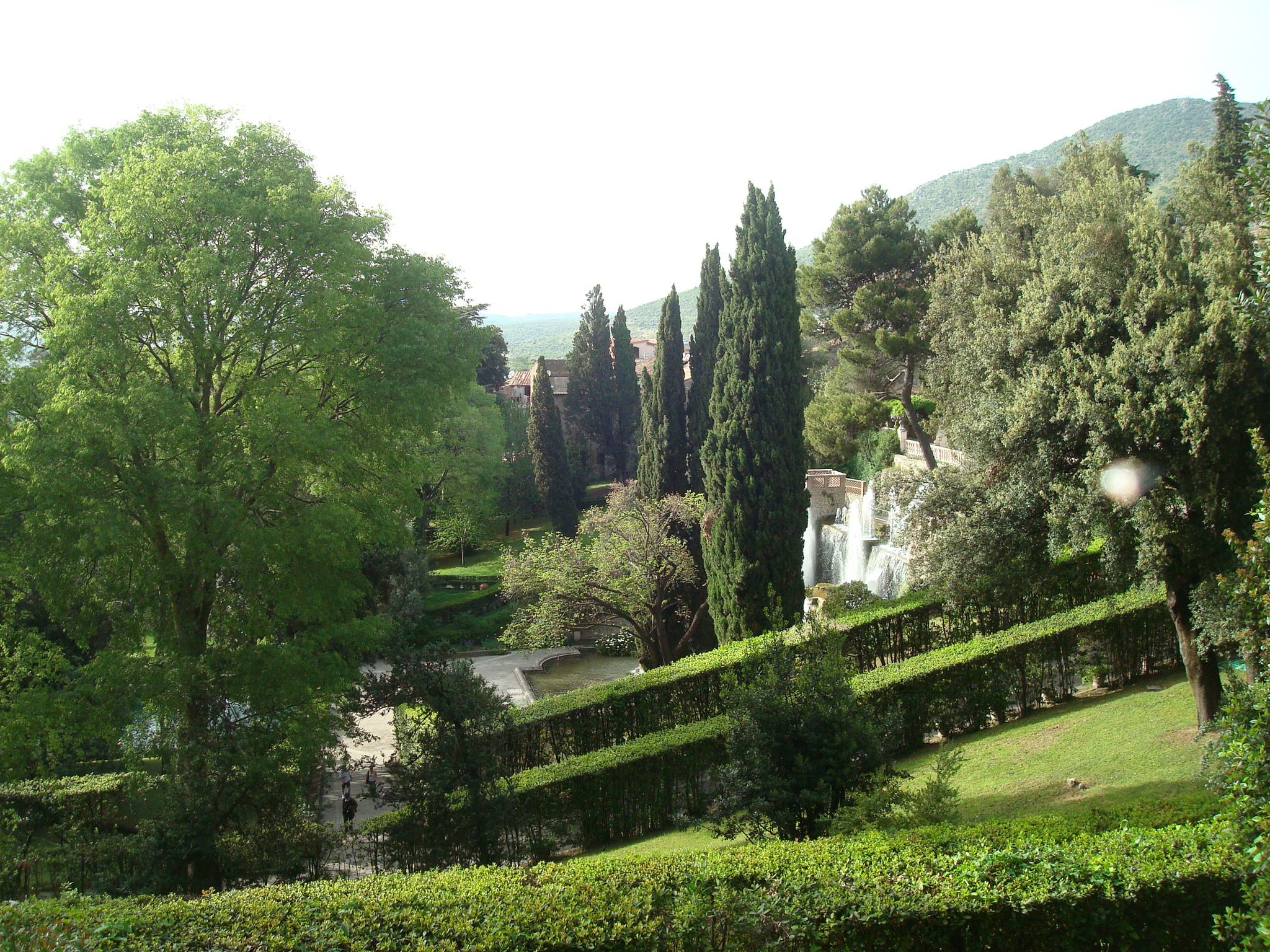 Villa D'Este sloping garden