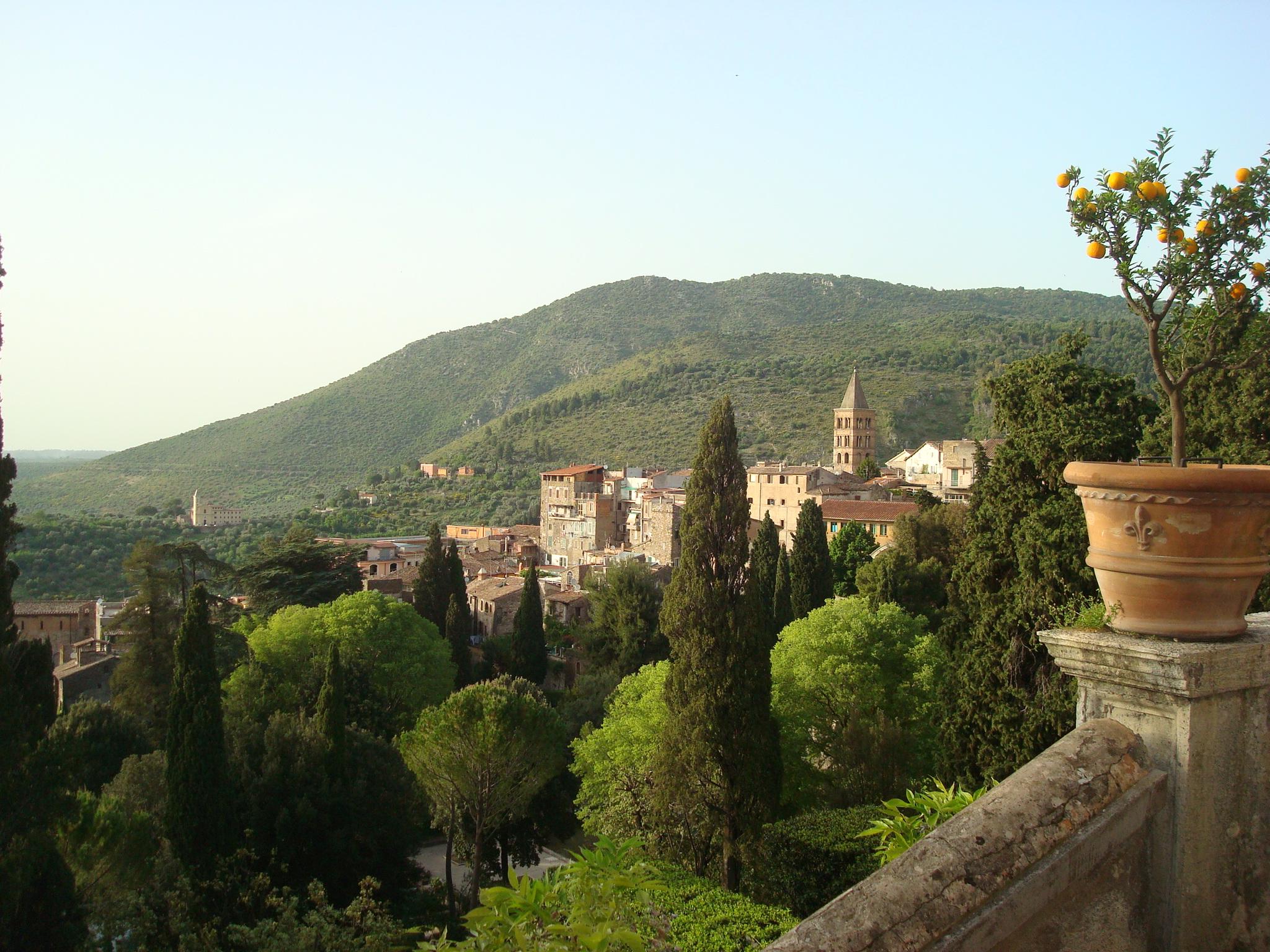 Villa D'Este view