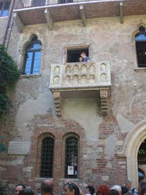juliet balcony verona