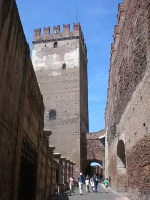 on the bridge castelvecchio