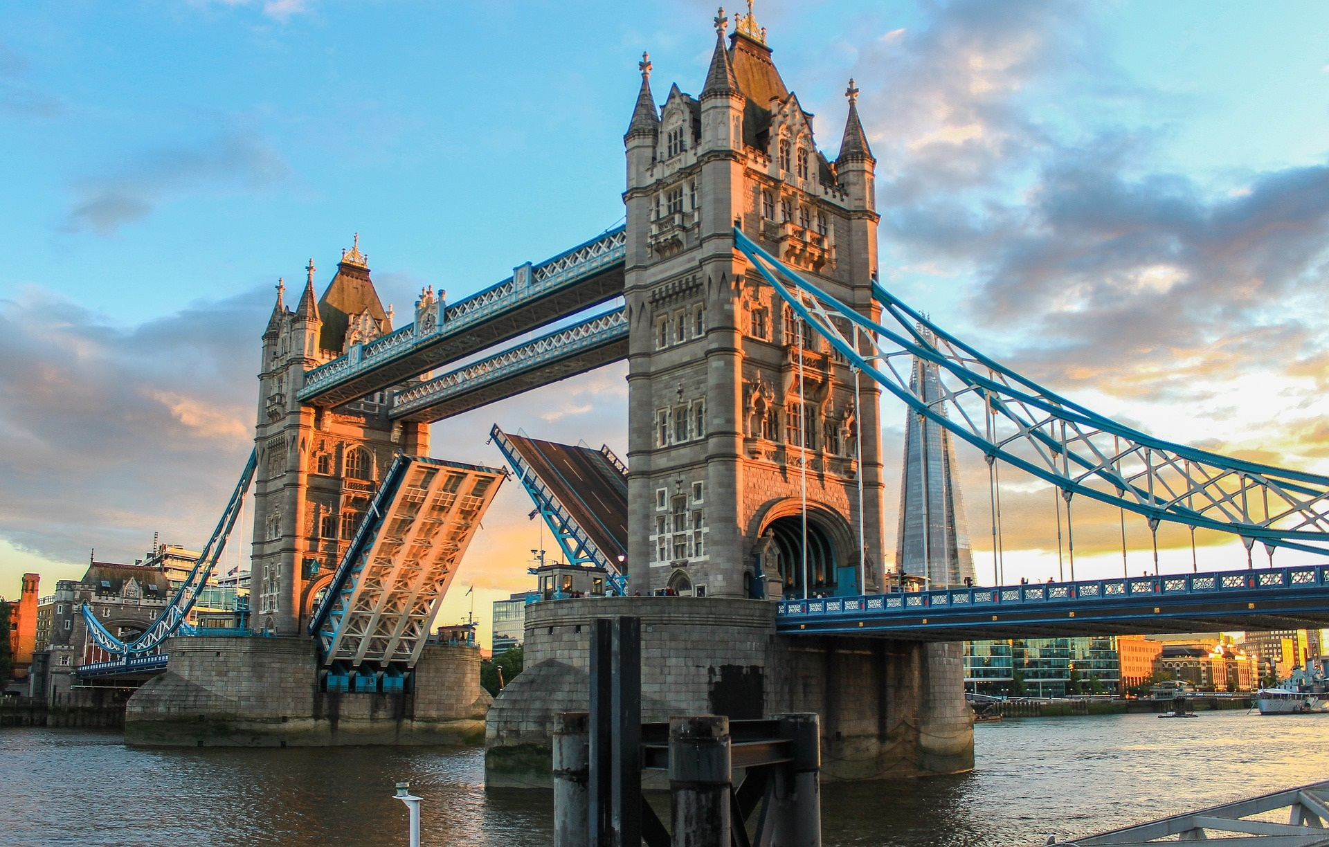 Top sights in Central London - Tower Bridge