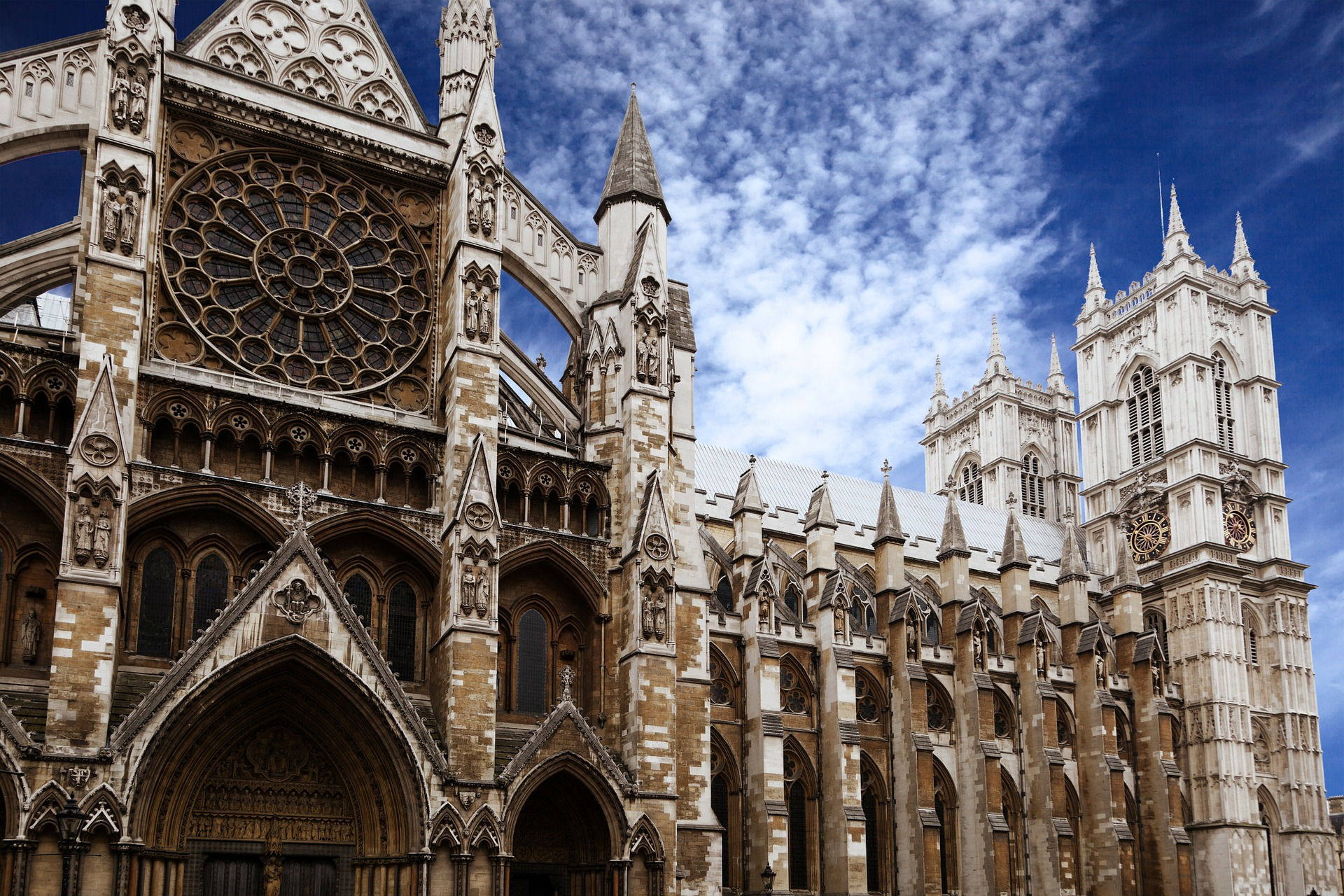 Top sights in Central London - Westminster Abbey