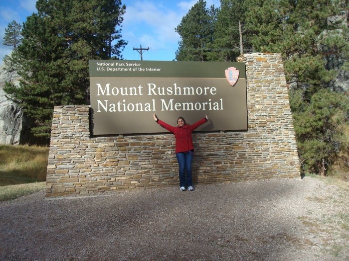 Visit Mt Rushmore, a quirky American attraction